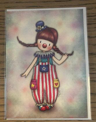 Clowning Around Card