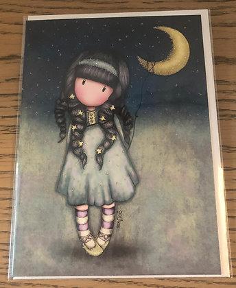 Moon Card Gorjuss