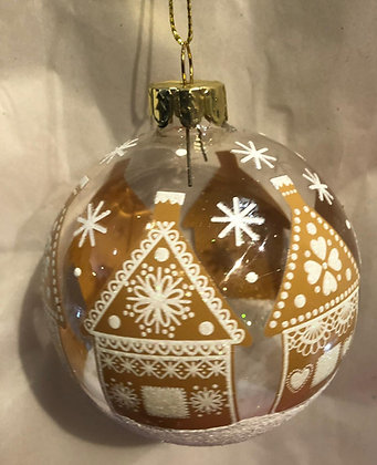 Gingerbread House Bauble