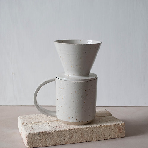 Filter Coffee Dripper / Satin White