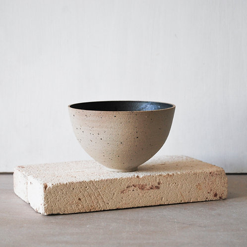 Snack Bowl / Charcoal + Raw