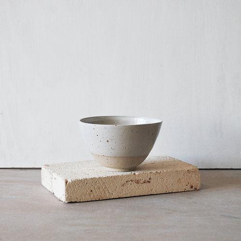 Snack Bowl / Satin White Dip