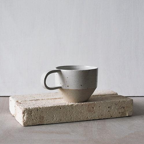 Ridge Cup / Satin White