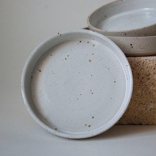 Snack Dish / Satin White
