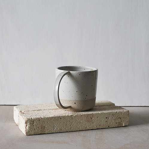 Dee Cup / Satin White Dip