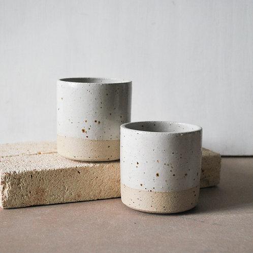 Stacker Cup / Satin White Dip