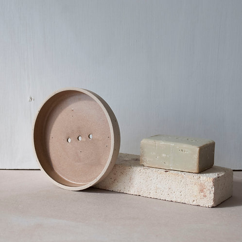 Soap Dish / Kol Red + Raw