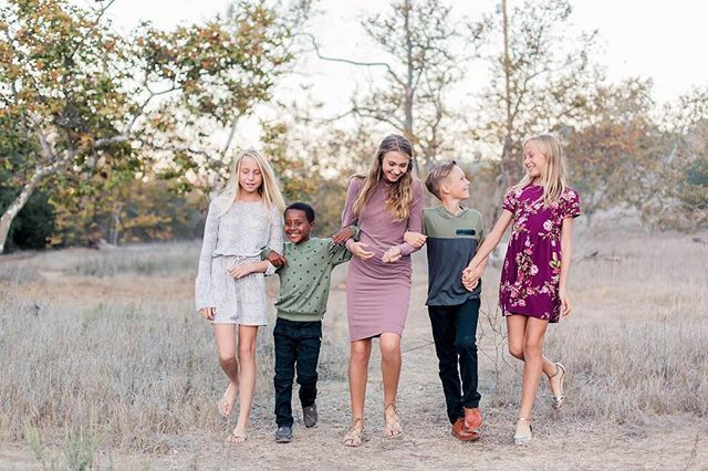 Family sessions are in full swing over h