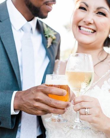 Last night's wedding with the most joyfu