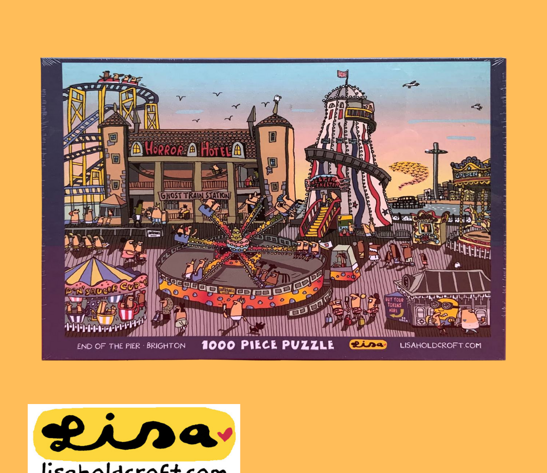 Lisa Holdcroft 1000 piece Brighton Pier jigsaw
