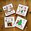 Thumbnail: Christmas cards by Ingela P Arrhenius - Mixed pack of 6 in 3 different designs