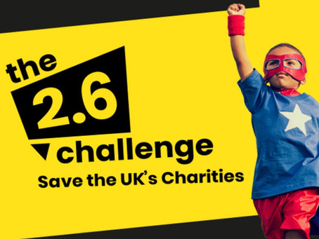 Join The 2.6 Challenge and help save the UK's charities