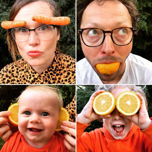 Best orange segment smile