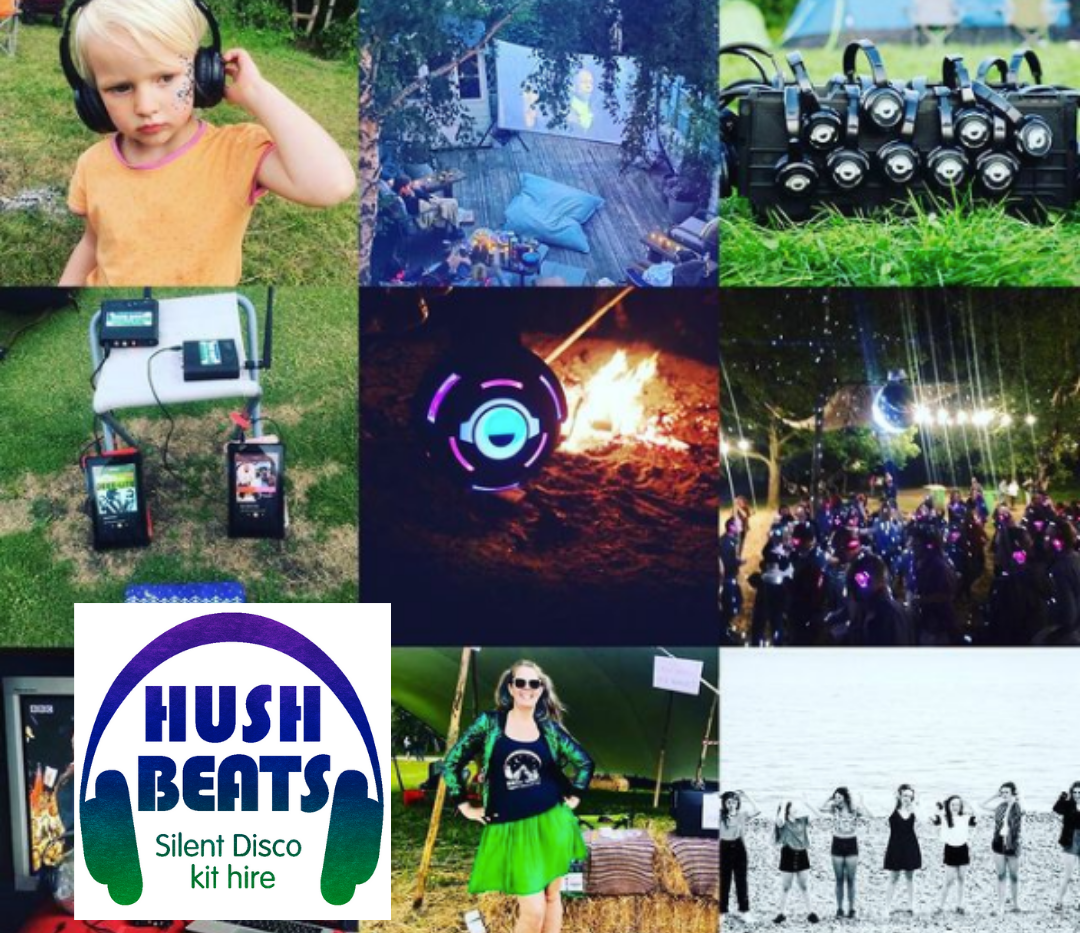 Hush Beats silent disco kit hire