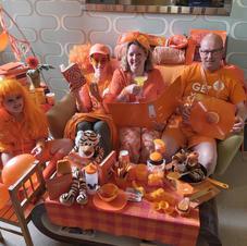 Most orange items