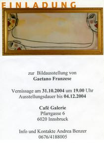Cafe Galerie Innsbruck.