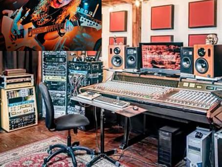 Recording at Empire Studios!