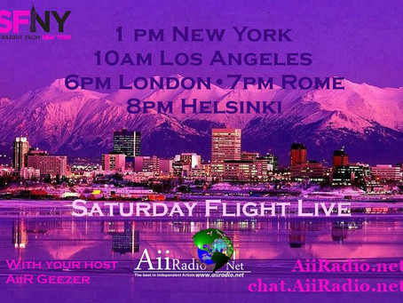 DRIVING FORCE on AiiRadio Feb 29th @ 7pm CH Time   SFNY - straight from New York