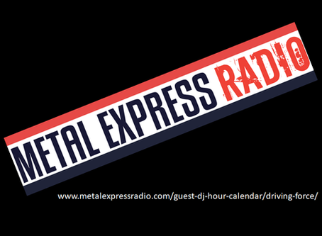 DRIVING FORCE are this week's Guest DJs on Metal Express Radio!