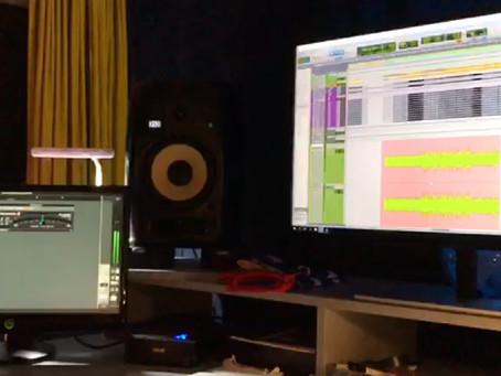 New album, studio work in progress