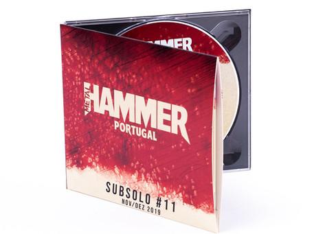 DF on Metal Hammer Portugal sampler CD!