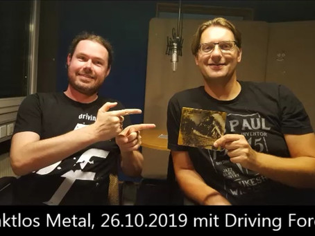 Presenting our new CD @ Kanal K / Rockstation.ch