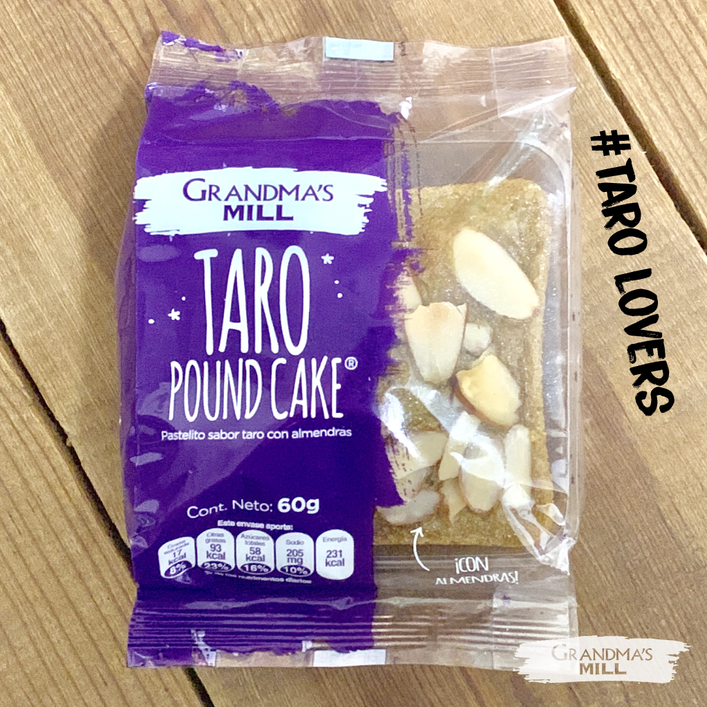 Taro Poundcake Grandma's Mill