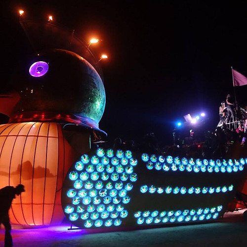 Fabrication & Sewing work for Global Entertainment &  Burning Man Artists