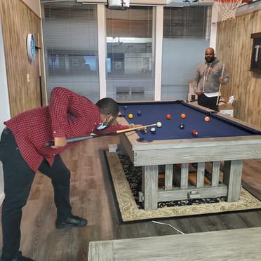 Kick Back/Play Pool