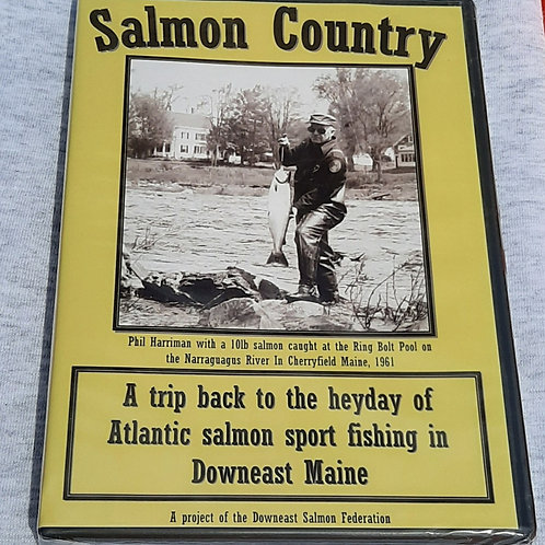Salmon Country DVD