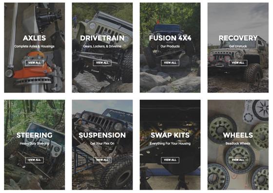 Fusion 4x4 - New Website!