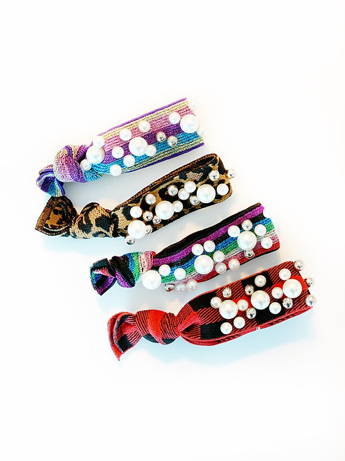 Pearl Hair Ties (13 Colors)