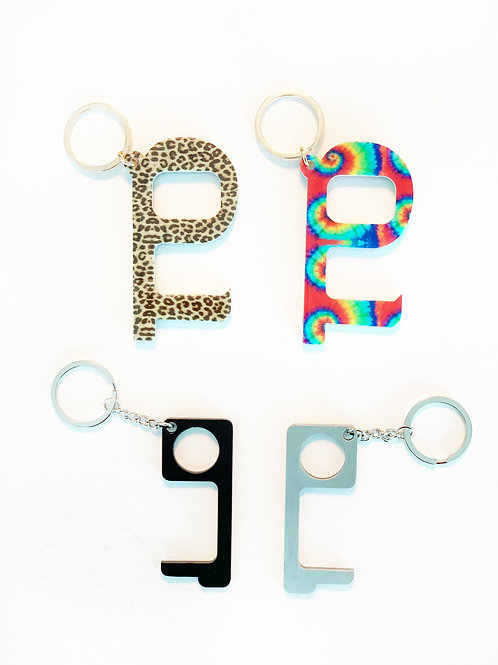 Safety's Key! Touchless Keychain (6 Colors)