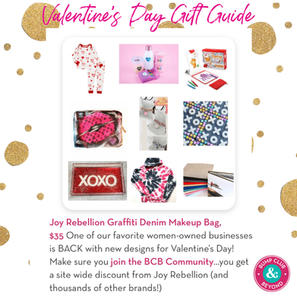 Bump Club & Beyond's Valentine's Day Gift Guide