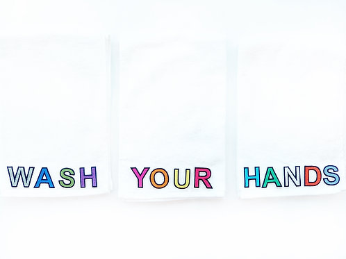 Custom Hand Towels (Set of 3)