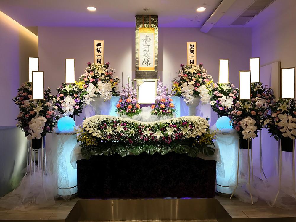 尼崎市、武庫之荘、武庫町、家族葬、お葬式、直葬、火葬、弥生ケ丘斎場、阪急武庫之荘駅、浄土真宗