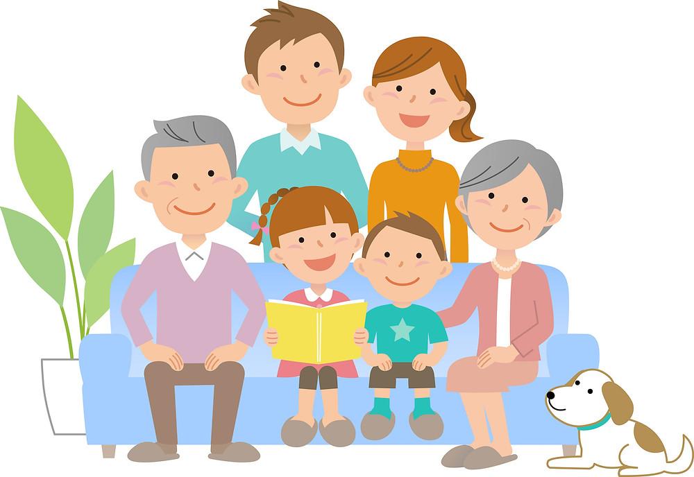 親と過ごす時間