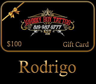 Johnny Boy Tattoo Sherbrooke