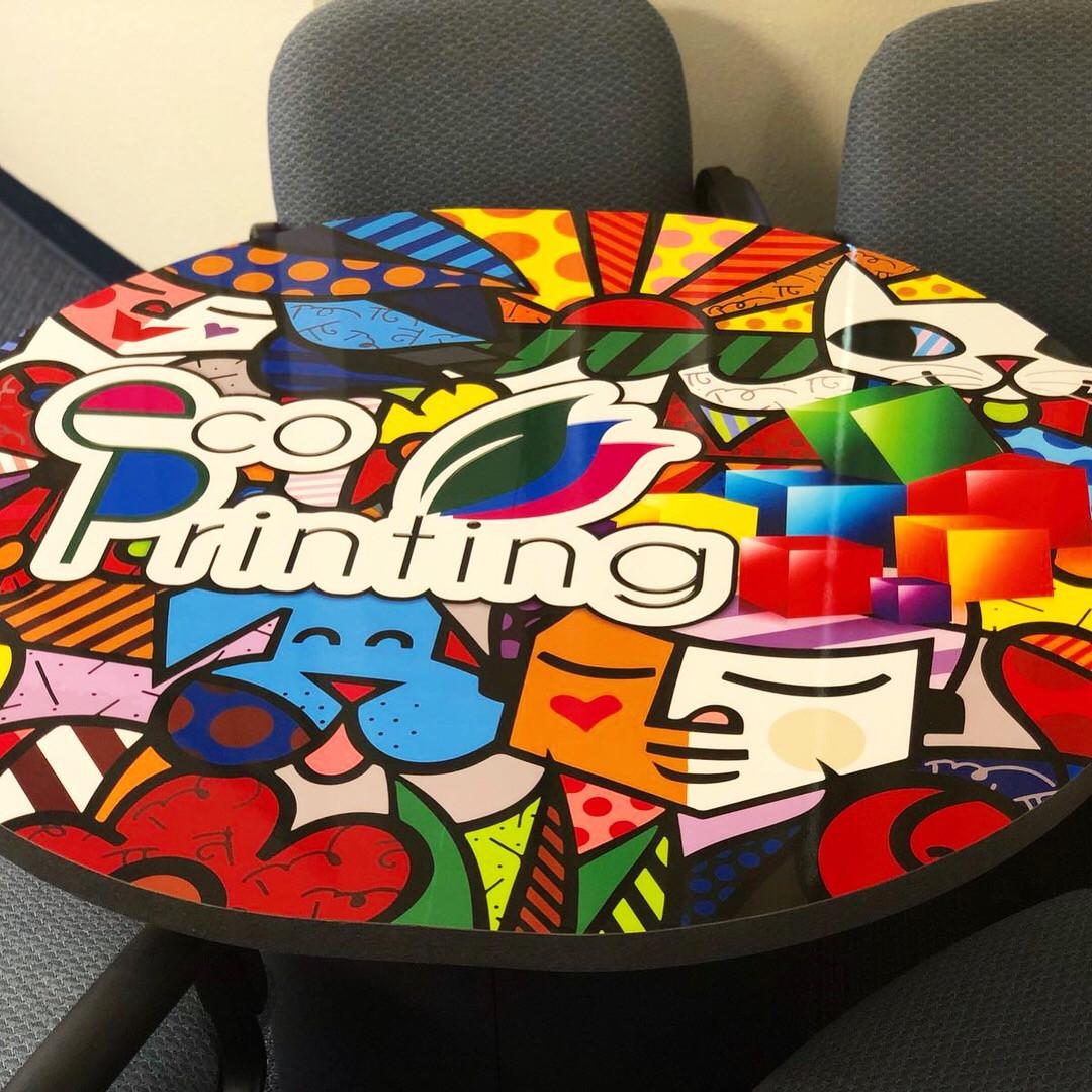 Table Wrap Eco Printing