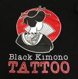 Black Kimono Tattoo