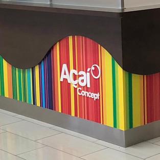 Acai concept wall wrap