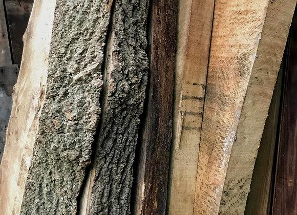 Waney Edge Oak Slabs