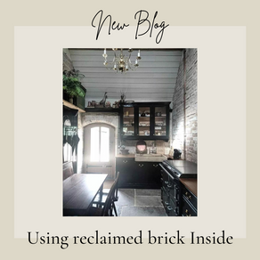 Using Reclaimed brick inside your Home