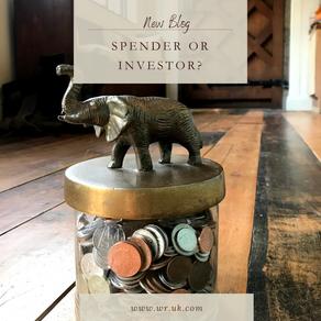 Spender or Investor?