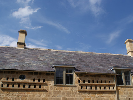 Reclaimed Welsh Slate Roof in Broadway