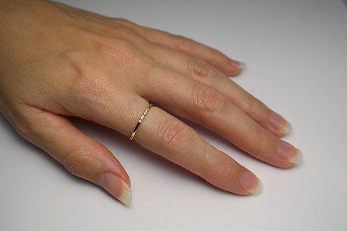 Petite Stacking Ring - 9 carat Gold Stacking Ring Gold band Wedding Band