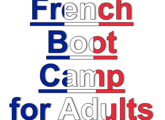 French Boot Camp: Grammar & Pronunciation