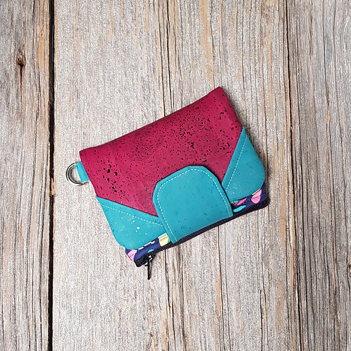 Mini Wallet - Hawaiian Flowers