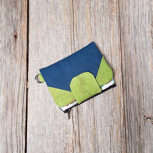 Mini Wallet - Multicolour Roses