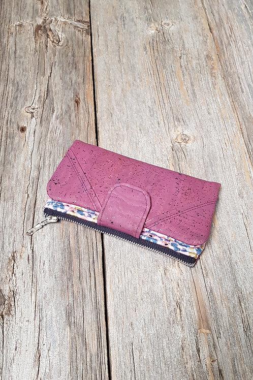 Wallet - Violet Tapestry